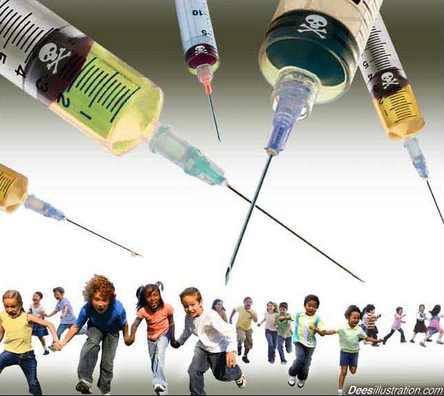 http://www.amfirstbooks.com/IntroPages/NonToolbarTopics/Trojan_Horse_Vaccination/Art/David_Dees_kids_flee_deadly_vaccines.647w577h.jpg