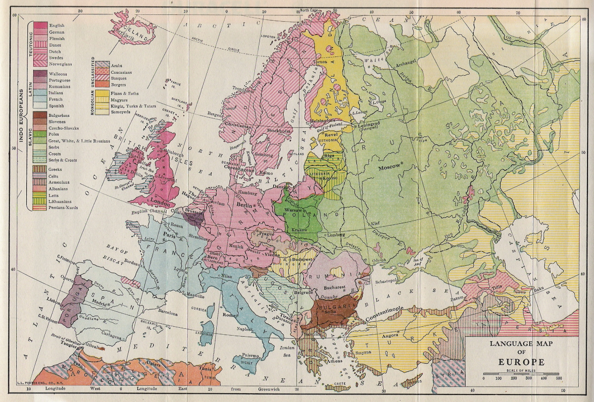 15th Century Map Of Europe.Historical Maps Of Europe